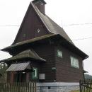 Kostelík v Hrčavě, nejvýchodnější české obci. Před více než 10 lety jsme tady byli na kolech, ale na Trojmezí jsme tenkrát nejeli.