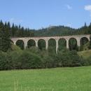 Železniční viadukt u Telgártu