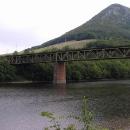 Trať na přehradě Velká Lodina