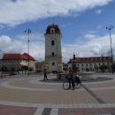 Na náměstí v Brezně