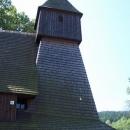 A to je on ... dřevěný kostelík v Hervartově