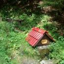 Druhý den: pěší výlet na hřeben Čergova. Studánka cestou