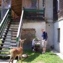 Kousek od sedla je i turistichá chata Čergov