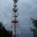 Vysílač na vrcholu Lysé. Nebýt pracovníka telekomunikací, tak jsme tam možná ještě dnes.