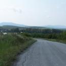 Pás Slanských vrchů táhnoucí se až někam do Maďarska.