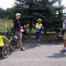 Setkání s kolegy cykloturisty v Kecerovcích