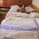 Naše další ubytování v Herľanech - kvůli dětskému táboru jsme byli přesunuti do vedlejší budovy.