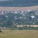 Kecerovce - staré a nové domy cikánské osady
