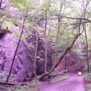 Cesta dolů Zádielskou dolinou
