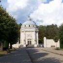 Hrobka Andrássyovců - když jsme ale zjistili, že nejsou vidět, o prohlídku nemáme zájem :-)
