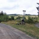 Cyklotrasy po náhorní planině kolem Lomu nad Rimavicou - všechny vesměs nad 1000m.n.m.