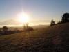 Východ slunce nad Velkou Fatrou