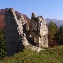 Torzo gotického paláce na Sklabini