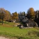 Celkový pohled na hrad Sklabiňa