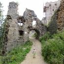 Víťa na hradě Lietava