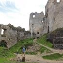 Hrad Lietava je rozsáhlý