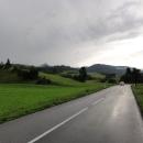 Cestou z Rajce nás stíhá bouřka