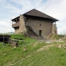 Na hradě Fiľakovo došlo k pádu, následoval rentgen Šárčiny hlavy, ale vše dobře dopadlo ...