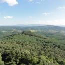 POhled směrem k pohoří Mátra