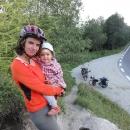 S Šárkou na Vernárském sedle (1.053 m.)
