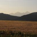 Pohled směrem k Vysokým Tatrám