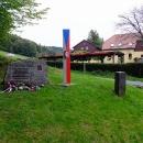 Na přechodu ve Waltersdorfu mají památník obránci hranic z roku 1938