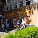Pekárnu a cukrárnu Sluníčko ve Varnsdorfu můžeme doporučit, Horsta jsme za jeho průvodcovské služby pozvali na kávu
