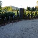 Ještě stavíme u památníčku na různých místech Evropy padlých místních německých vojáků z první světové války