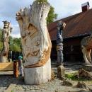 Restaurace Stará hospoda v Doubici je vyhlášená i pro park dřevěných soch