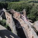 Dnes je část paláce zřícená, ale stále se opravuje.