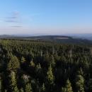 Zalesněný hřeben Sovích hor