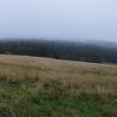 Poslední den je mlhavo. Zde vidíte, že na hřebeni Orlických hor opravdu nic nevidíme. Jenže na rozdíl od Ukrajiny, tady snad nezabloudíme :-)