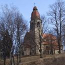 Výlet zahajujeme ve Štěchovicích – secesní kostel sv.Jana Nepomuckého