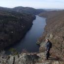 Na Smetanově vyhlídce – řeka tu je jak na dlani