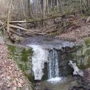 Dozvuky zimy na vodním toku