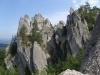Gotická brána ve skalách