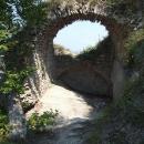 Zbytky hradního paláce na Hríčově