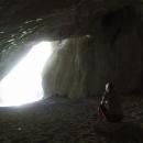 V jeskyni jsme jen my dva