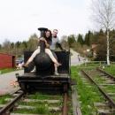 V Novém Údolí nasedáme na vlak