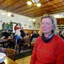 V hospodě v Novém Údolí na pozdním obědě