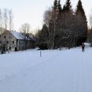 I ty dva domy bývalé Krásné Hory se už rozpadají