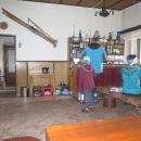 Jednoduchý bufet v chatě Zámok