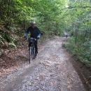 Slovenské cyklotrasy jsou občas pěkně výživné...
