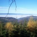 Výhled na Orlické hory, Krkonoše a polské Góry Bystrzyckie
