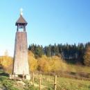Nově opravená kaplička v Horní Lipce