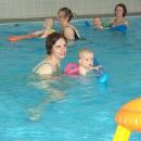 Lanškroun - holky si odskočily na plavání miminek