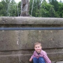 Víťa v zámeckém parku