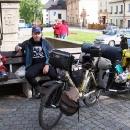 Svačinka na náměstí v Letohradě a pak posledních pár kilometrů domů