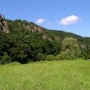 Skalnaté údolí Jihlavy