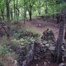Zbytky Sedleckého hradu